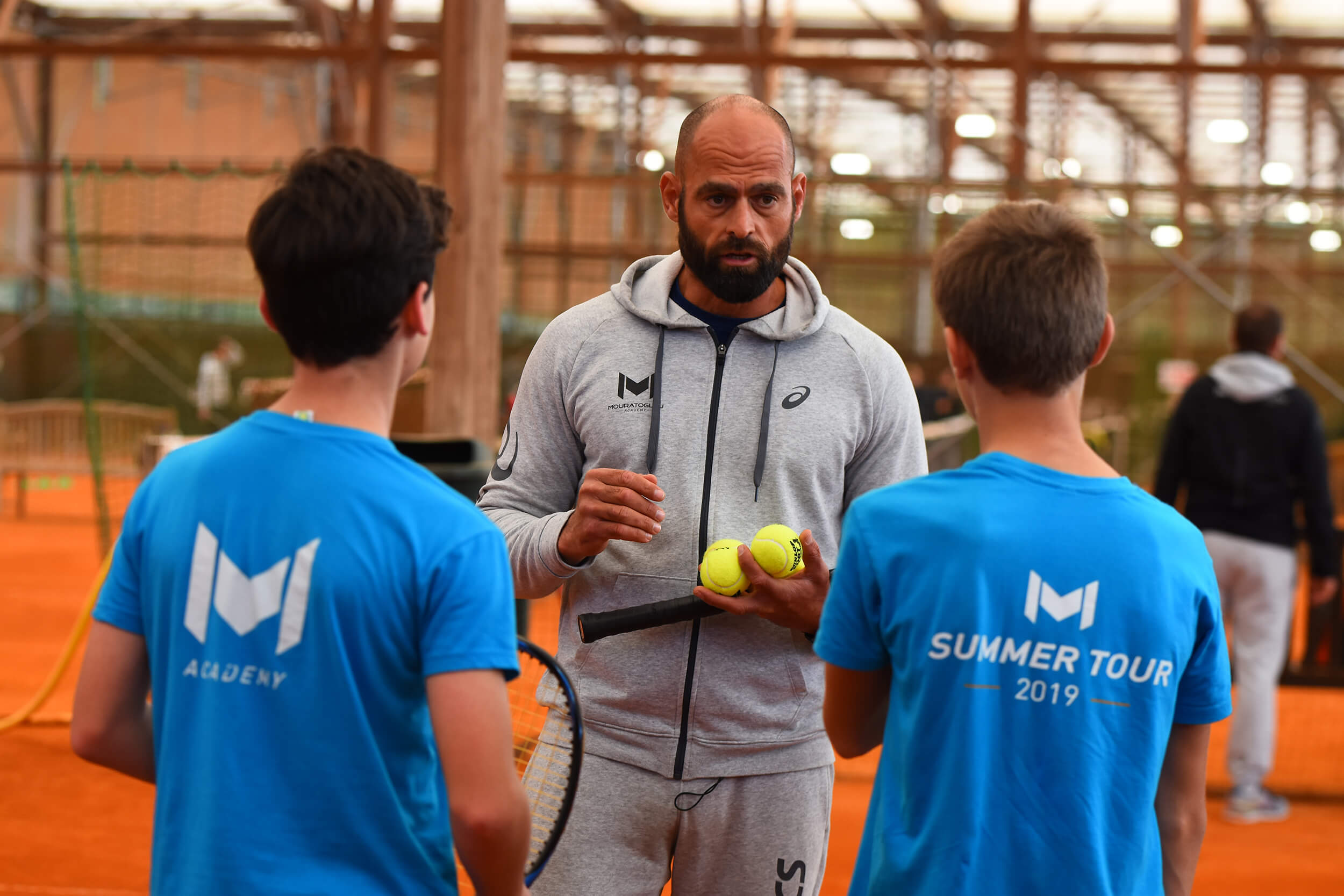 coaching mouratoglou tennis