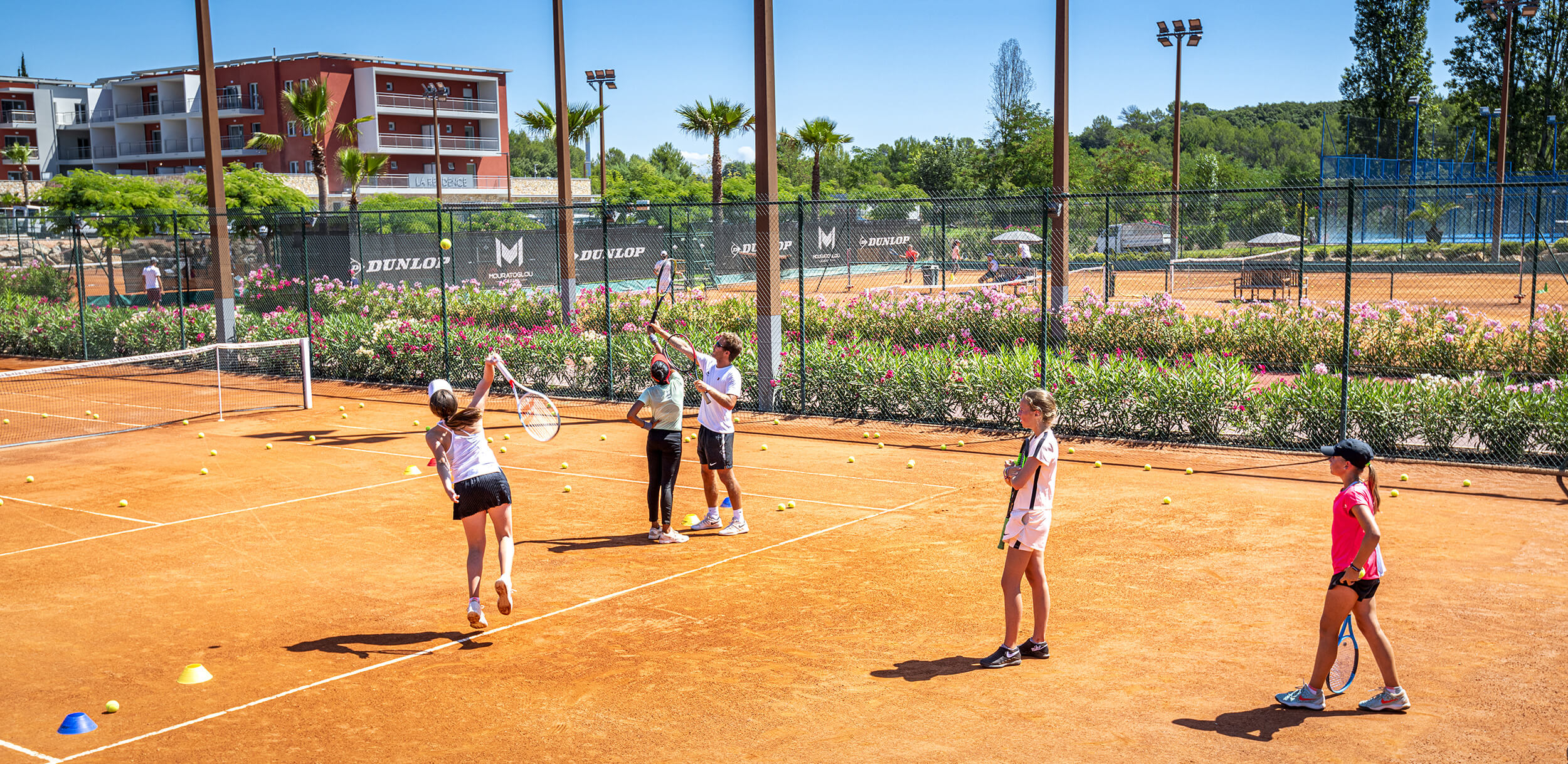 cours tennis groupe