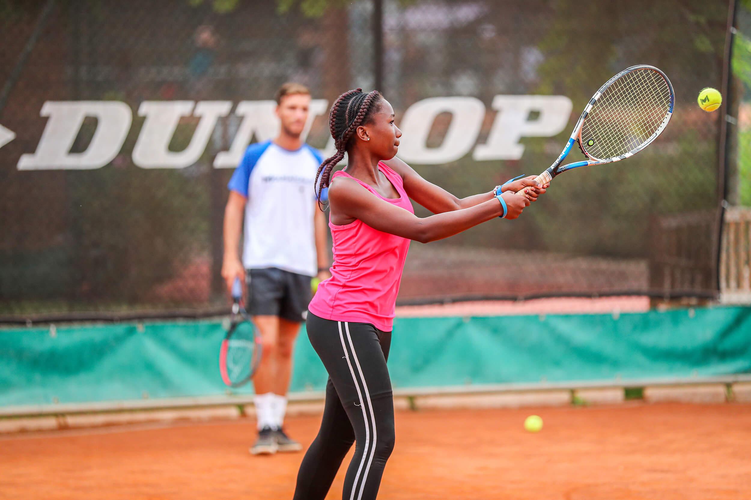 tennis technique