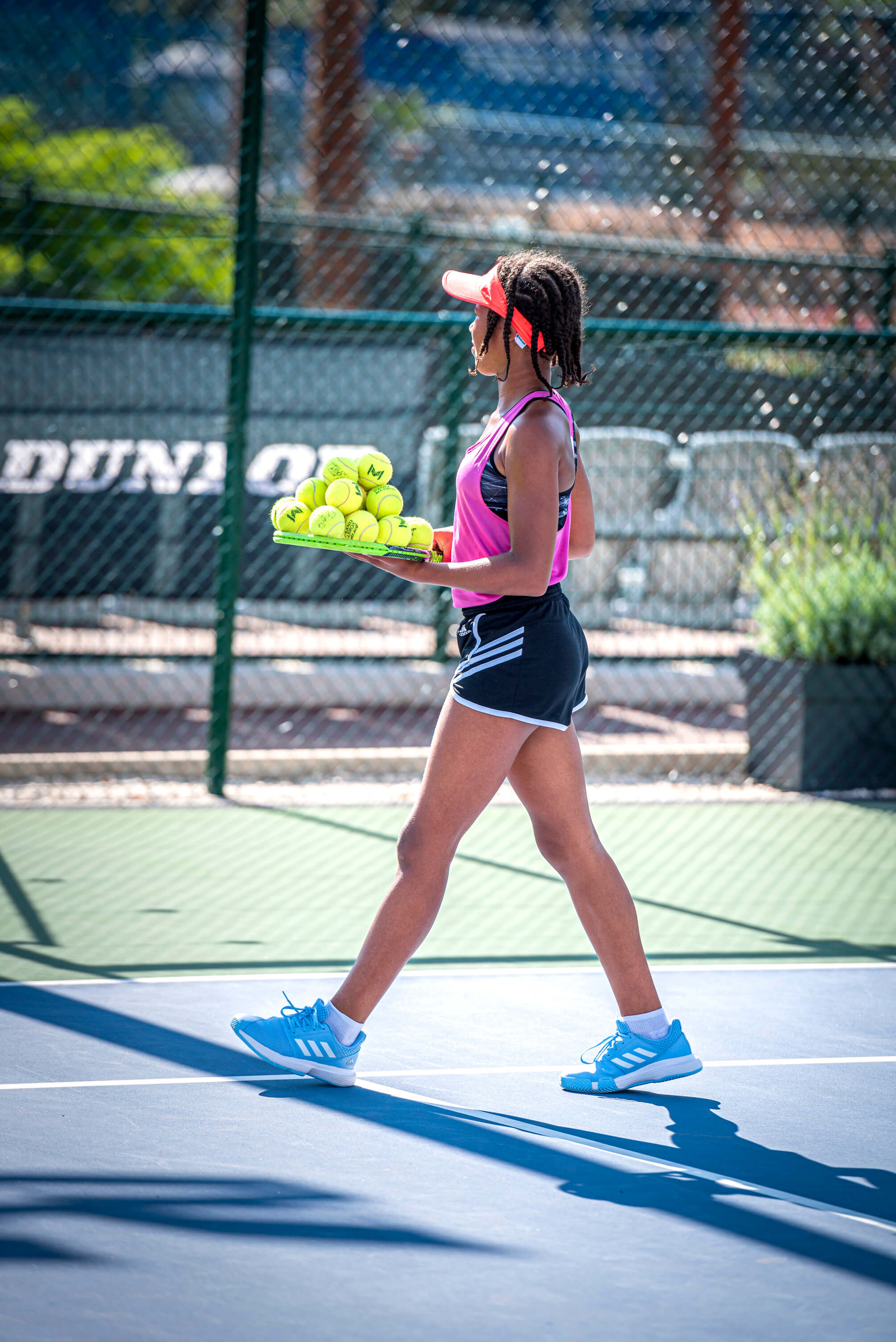 tennis entrainement balles