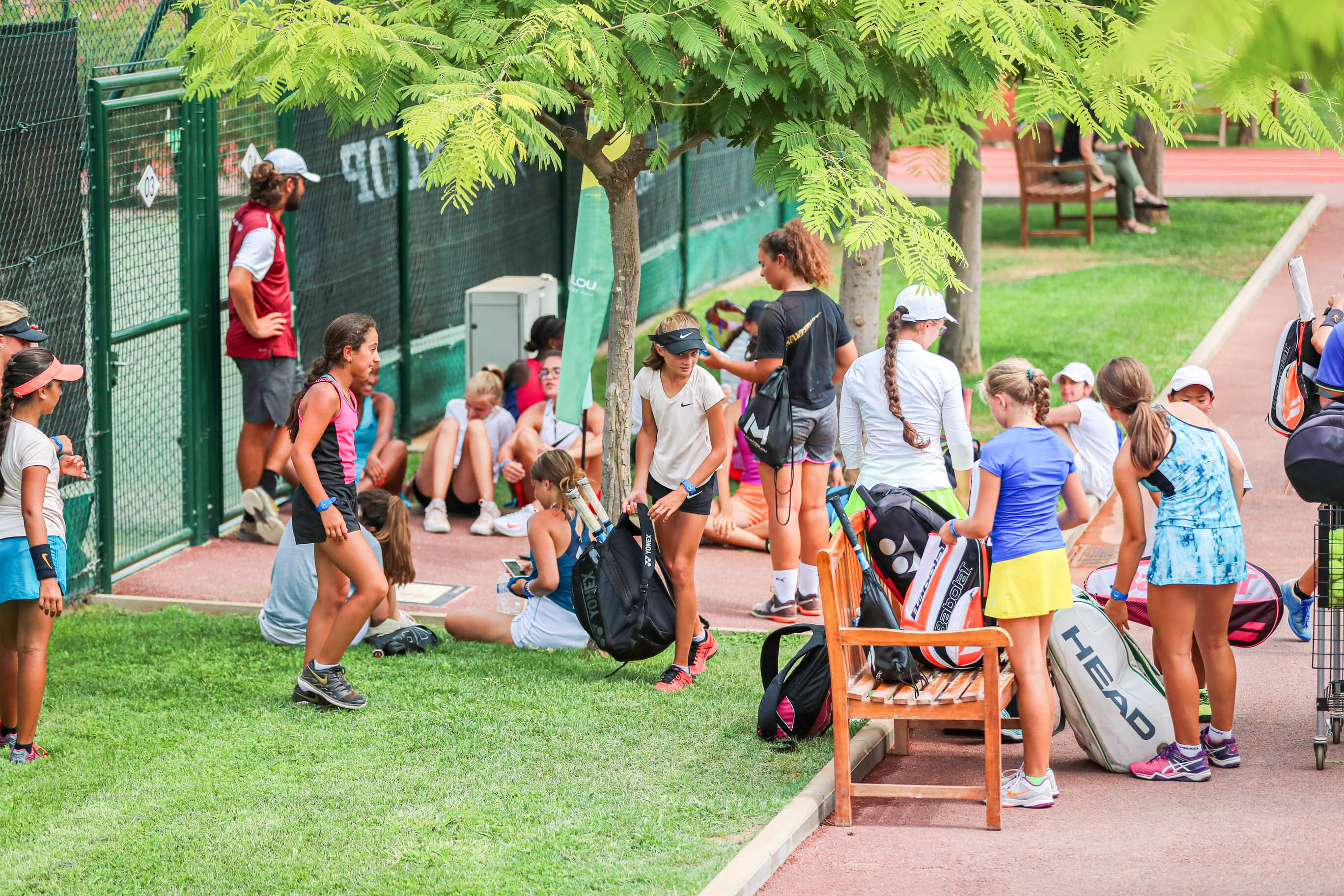 Groupe tennis jeunes