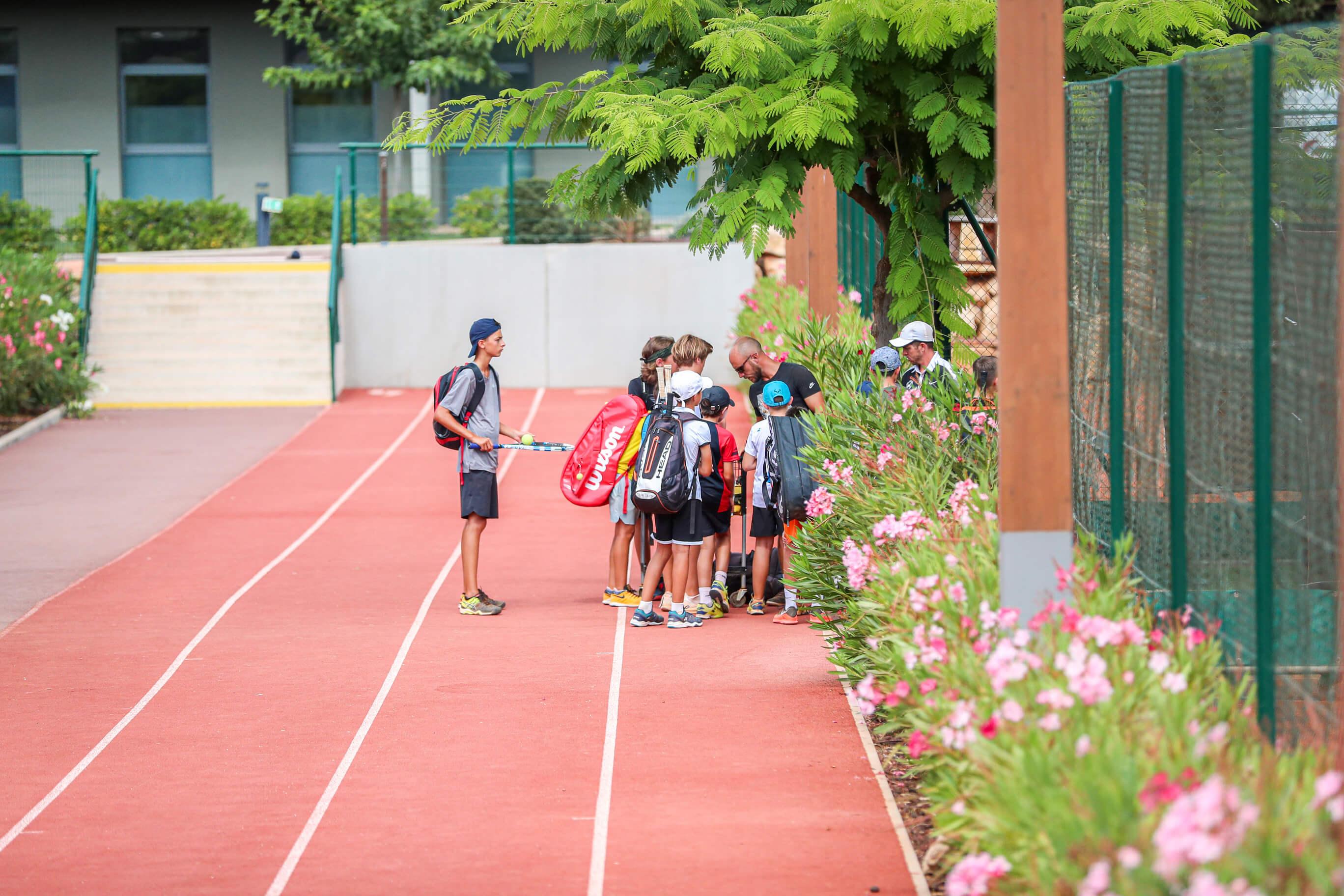 Groupe jeunes tennis