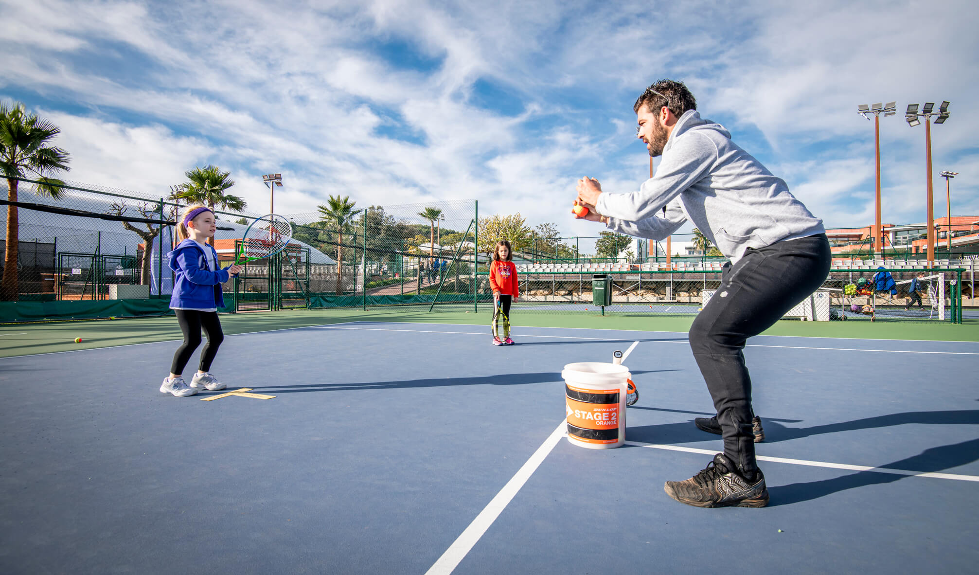 coaching enfant tennis