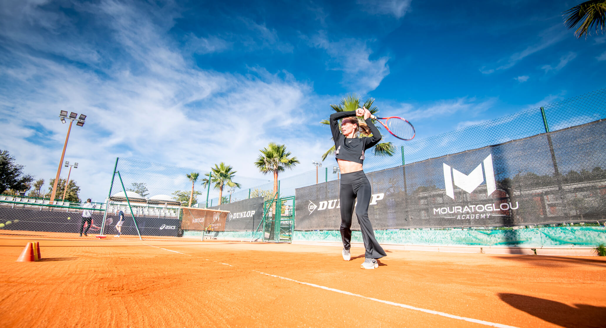 femme tennis